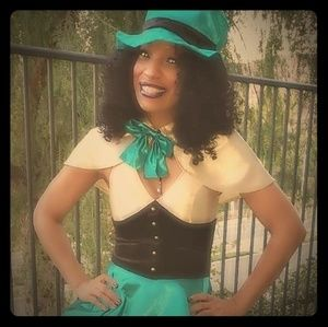 "The ""Hot Hatter"". Cute Mad Hatter costume."